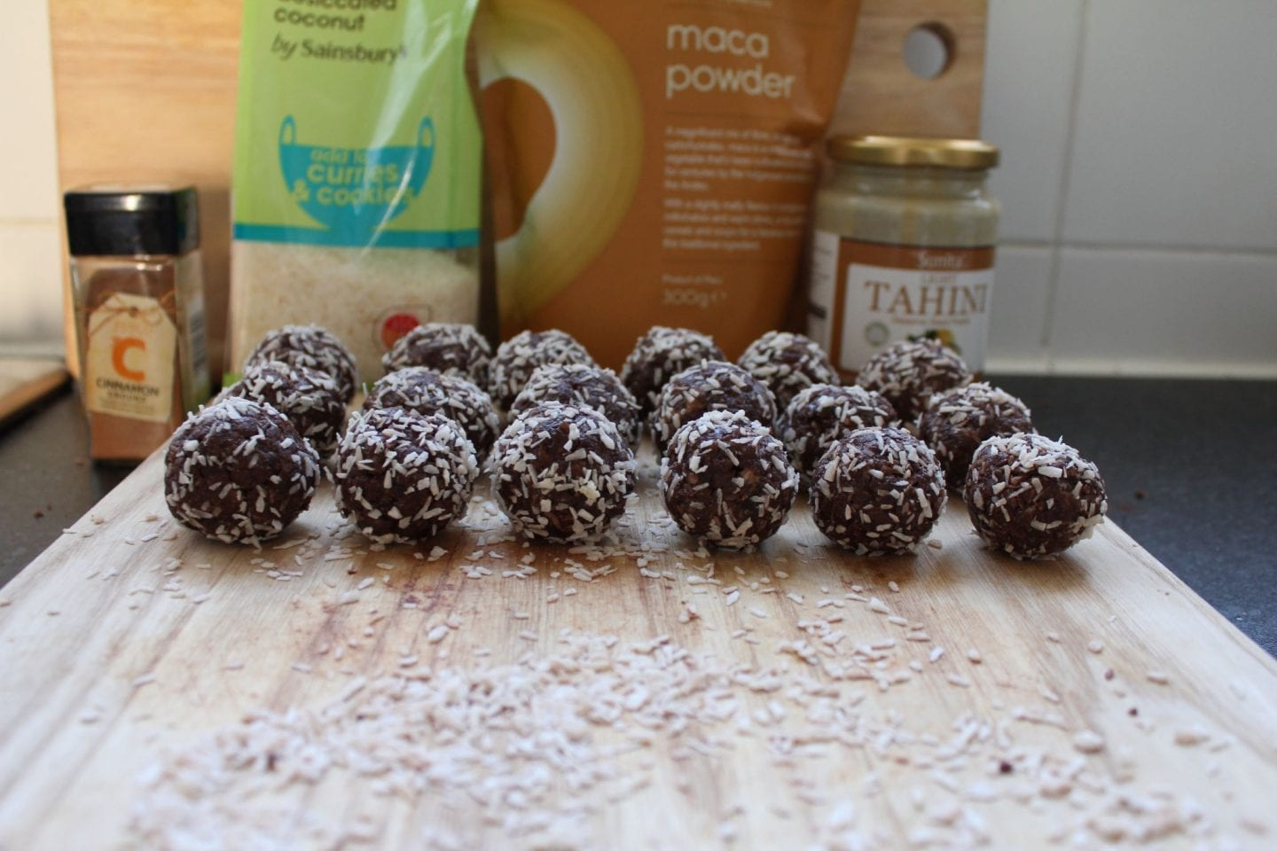Maca & Cocoa Energy Balls Recipe