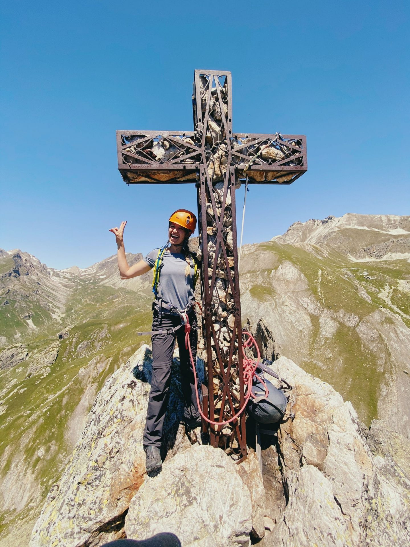 Summit of Rocca Provenzale – Alpinism in Maira Valley, Italy