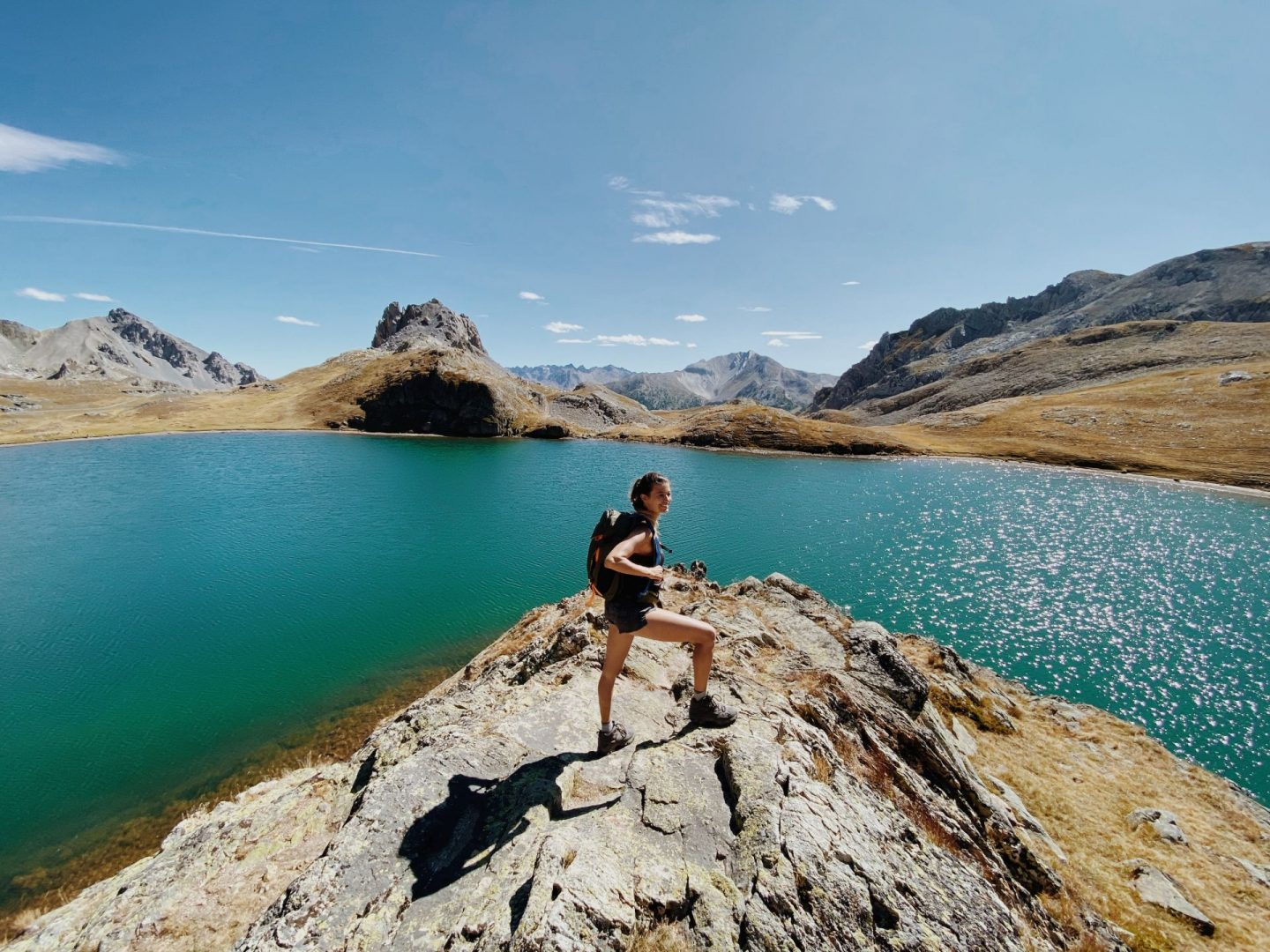 Ring Hike of the 5 Lakes of Stura Valley