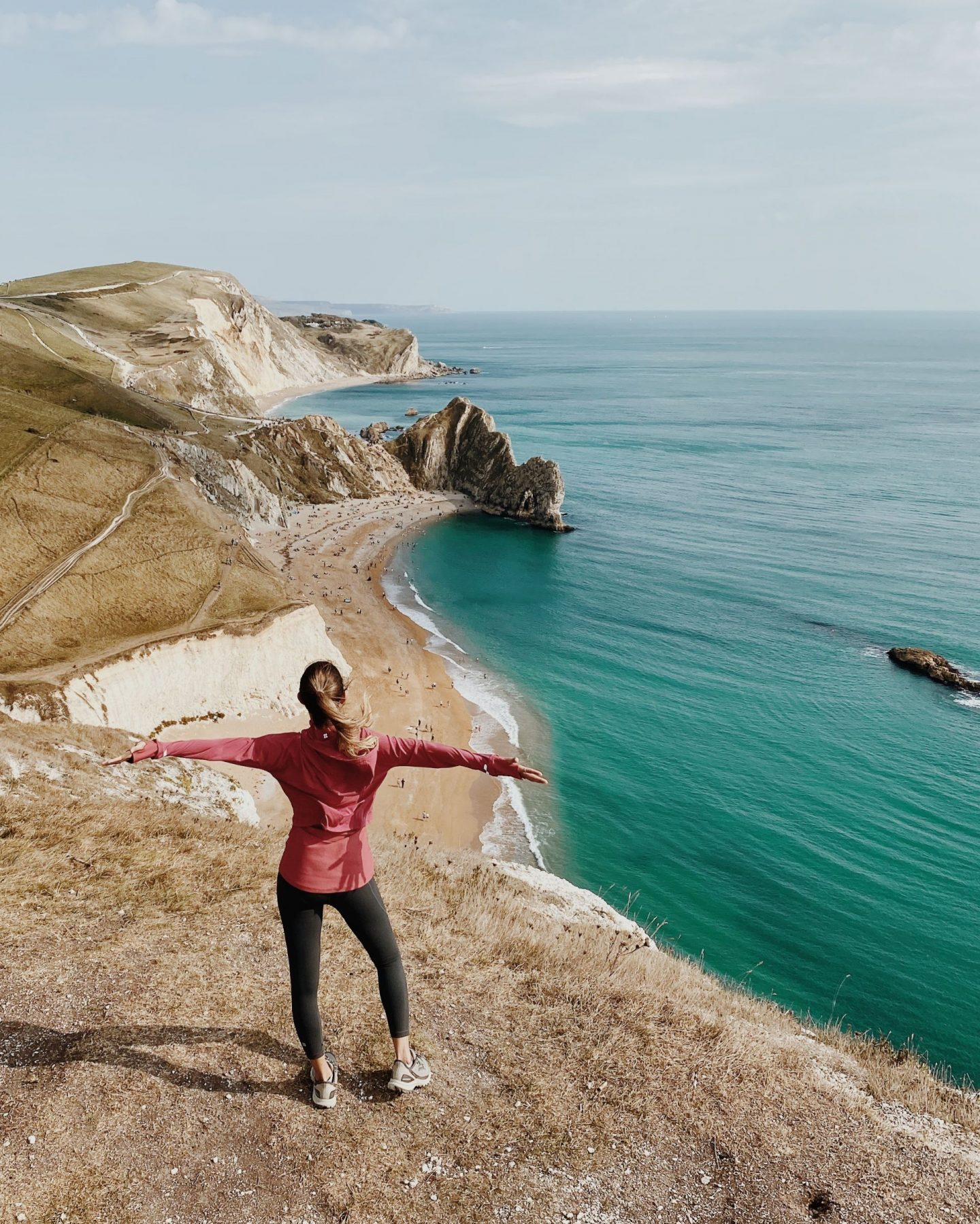 Hike in the Jurassic Coast, England: Durdle Door to Lulworth Cove